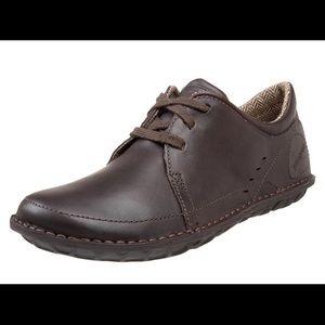PATAGONIA Loulu Velvet Brown Leather Sneakers